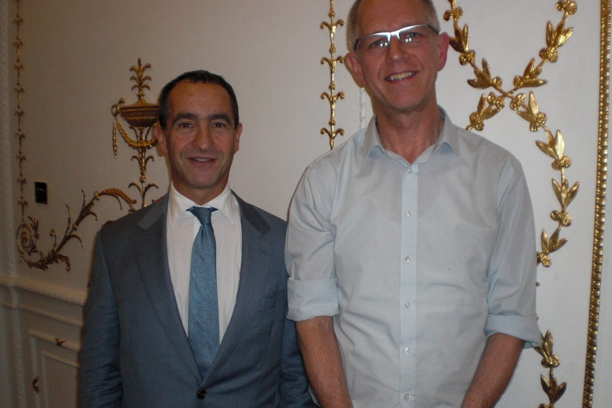 Clive Elsworth with Michael Liebreich from CEN
