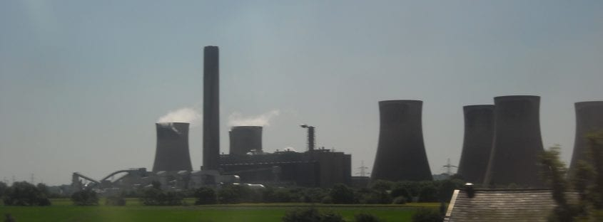 Fiddlers Ferry Power Station, Widnes by Alan Godfree